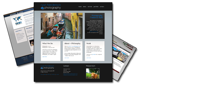Our portfolio includes both static sites and CMS (Wordpress) sites. Click to view our past work.